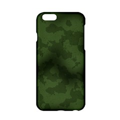 Vintage Camouflage Military Swatch Old Army Background Apple iPhone 6/6S Hardshell Case