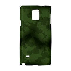 Vintage Camouflage Military Swatch Old Army Background Samsung Galaxy Note 4 Hardshell Case