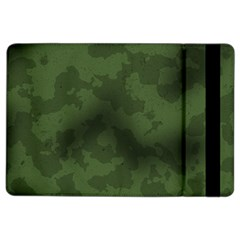 Vintage Camouflage Military Swatch Old Army Background iPad Air 2 Flip