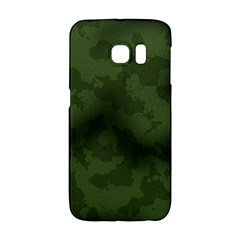Vintage Camouflage Military Swatch Old Army Background Galaxy S6 Edge