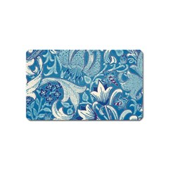 Floral Pattern Magnet (name Card)