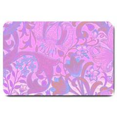 Floral pattern Large Doormat