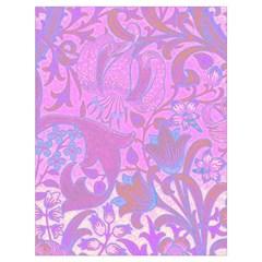 Floral pattern Drawstring Bag (Large)