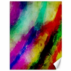 Colorful Abstract Paint Splats Background Canvas 36  X 48