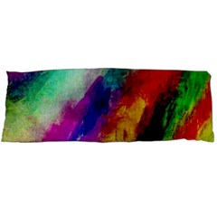Colorful Abstract Paint Splats Background Body Pillow Case Dakimakura (Two Sides)