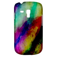 Colorful Abstract Paint Splats Background Galaxy S3 Mini