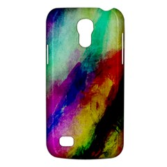 Colorful Abstract Paint Splats Background Galaxy S4 Mini