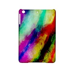 Colorful Abstract Paint Splats Background Ipad Mini 2 Hardshell Cases