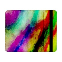 Colorful Abstract Paint Splats Background Samsung Galaxy Tab Pro 8.4  Flip Case