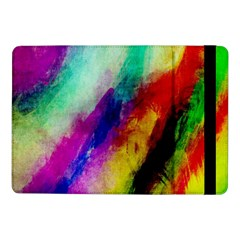 Colorful Abstract Paint Splats Background Samsung Galaxy Tab Pro 10.1  Flip Case