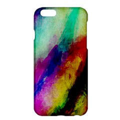 Colorful Abstract Paint Splats Background Apple iPhone 6 Plus/6S Plus Hardshell Case