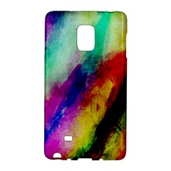Colorful Abstract Paint Splats Background Galaxy Note Edge