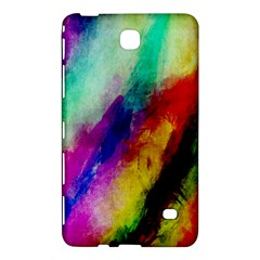 Colorful Abstract Paint Splats Background Samsung Galaxy Tab 4 (8 ) Hardshell Case