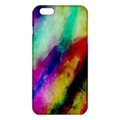 Colorful Abstract Paint Splats Background Iphone 6 Plus/6s Plus Tpu Case