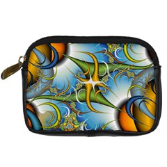 Random Fractal Background Image Digital Camera Cases