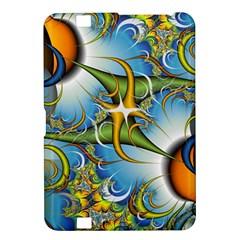 Random Fractal Background Image Kindle Fire HD 8.9