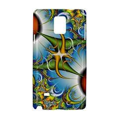 Random Fractal Background Image Samsung Galaxy Note 4 Hardshell Case