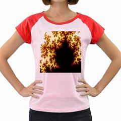 A Fractal Image Women s Cap Sleeve T-Shirt