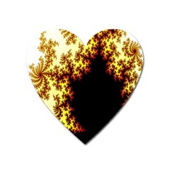 A Fractal Image Heart Magnet