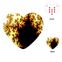 A Fractal Image Playing Cards (heart)