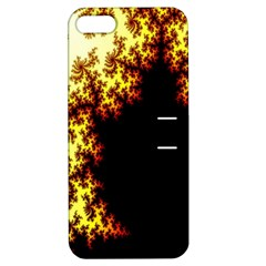 A Fractal Image Apple Iphone 5 Hardshell Case With Stand