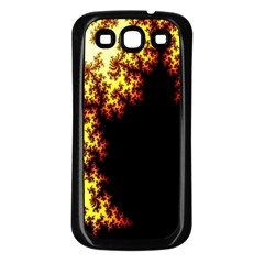 A Fractal Image Samsung Galaxy S3 Back Case (black)