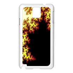 A Fractal Image Samsung Galaxy Note 3 N9005 Case (White)
