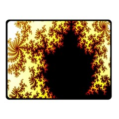 A Fractal Image Double Sided Fleece Blanket (Small)