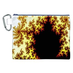 A Fractal Image Canvas Cosmetic Bag (XXL)