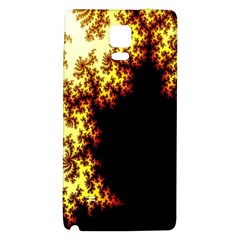 A Fractal Image Galaxy Note 4 Back Case