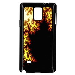 A Fractal Image Samsung Galaxy Note 4 Case (Black)