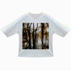 Fall Forest Artistic Background Infant/Toddler T-Shirts