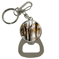 Fall Forest Artistic Background Button Necklaces