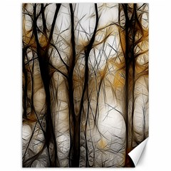 Fall Forest Artistic Background Canvas 12  X 16