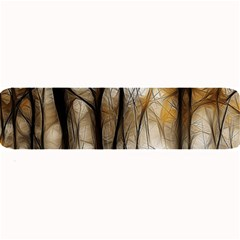 Fall Forest Artistic Background Large Bar Mats