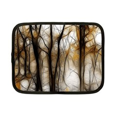 Fall Forest Artistic Background Netbook Case (small)