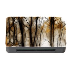 Fall Forest Artistic Background Memory Card Reader with CF