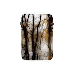 Fall Forest Artistic Background Apple iPad Mini Protective Soft Cases