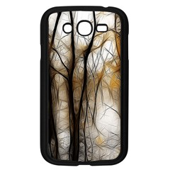 Fall Forest Artistic Background Samsung Galaxy Grand Duos I9082 Case (black)