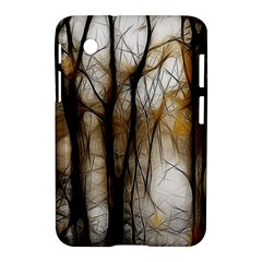 Fall Forest Artistic Background Samsung Galaxy Tab 2 (7 ) P3100 Hardshell Case