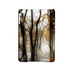 Fall Forest Artistic Background iPad Mini 2 Hardshell Cases