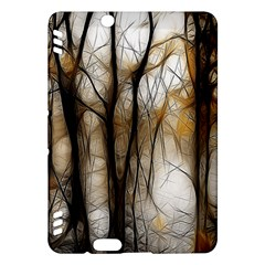 Fall Forest Artistic Background Kindle Fire HDX Hardshell Case