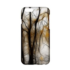 Fall Forest Artistic Background Apple iPhone 6/6S Hardshell Case