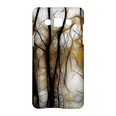 Fall Forest Artistic Background Samsung Galaxy A5 Hardshell Case