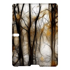 Fall Forest Artistic Background Samsung Galaxy Tab S (10 5 ) Hardshell Case