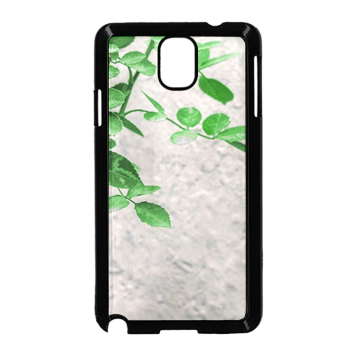 Plants Over Wall Samsung Galaxy Note 3 Neo Hardshell Case (Black)