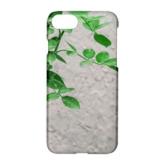 Plants Over Wall Apple Iphone 7 Hardshell Case