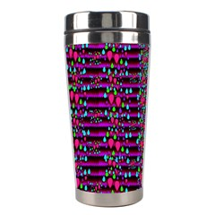 Raining Rain And Mermaid Shells Pop Art Stainless Steel Travel Tumblers