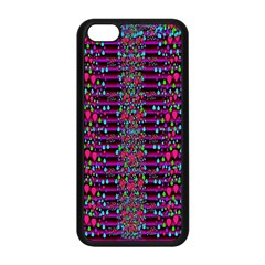 Raining Rain And Mermaid Shells Pop Art Apple Iphone 5c Seamless Case (black)