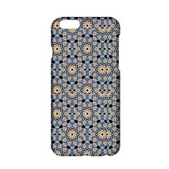 Gray Arabesque Pattern In Editable iPhone 6 Hardshell Phone Cases